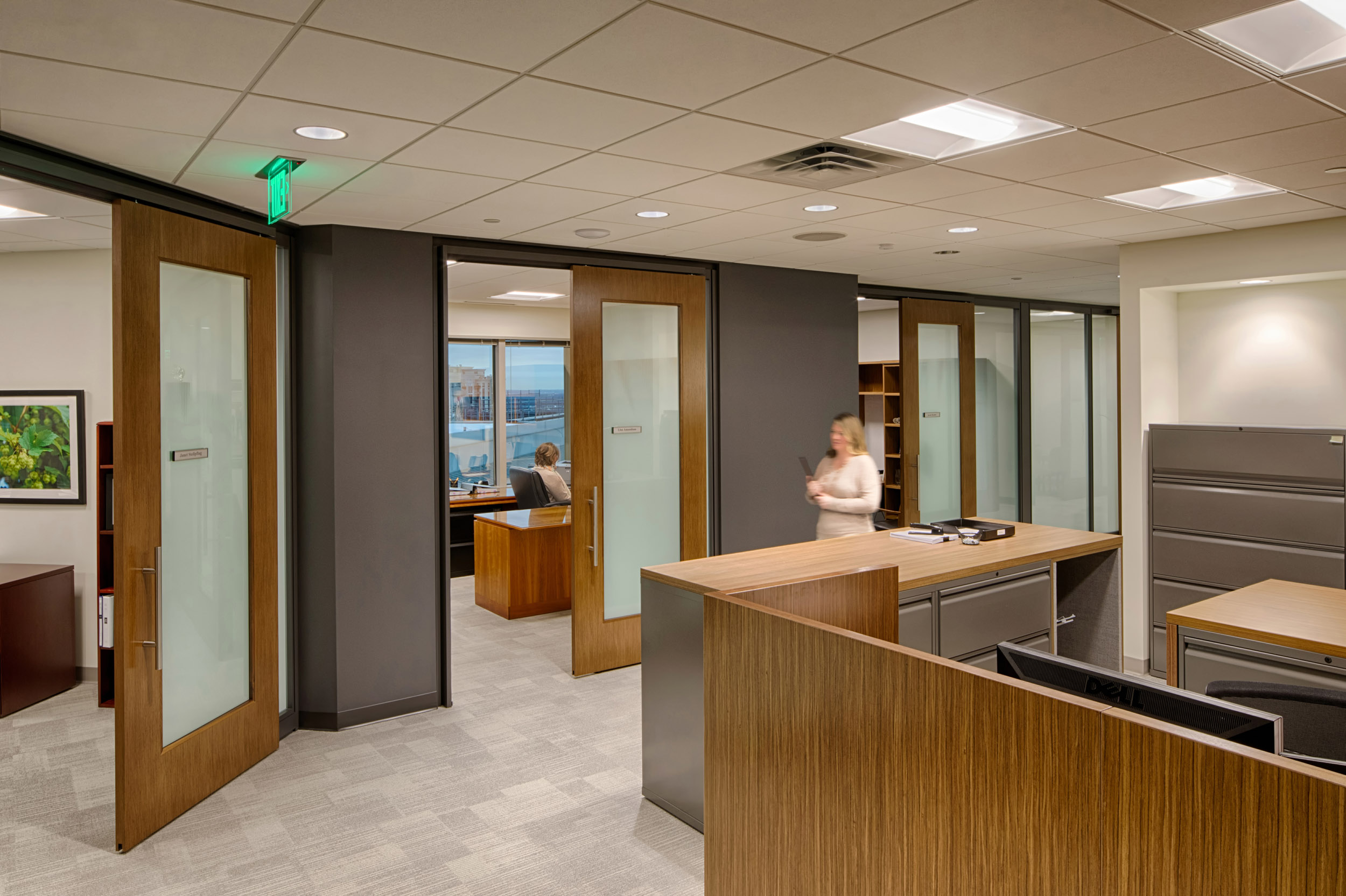 Corporate architectural photography of a law firm interior photos by Silverman Be Remarkable